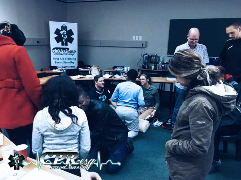 CPR-esq First Aid training 11